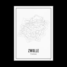 Wijck ansichtkaart Zwolle Centrum