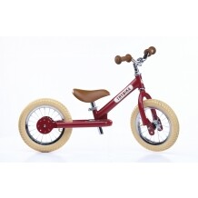 Trybike Steel loopfiets rood - tweewieler