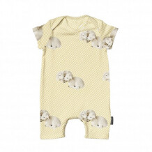 Snurk Playsuit Baby - Little lambs