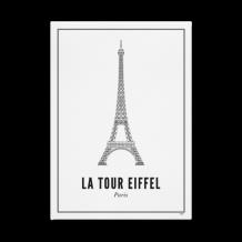 Wijck Eiffeltoren print A3 30 x 40