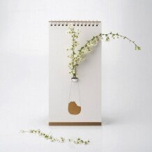 Flip Vase Gold Luf Design