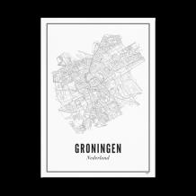 Wijck ansichtkaart Stad Groningen