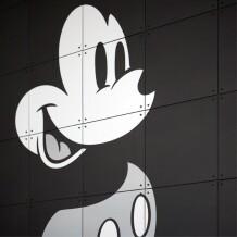 IXXI Disney Mickey Mouse black & white