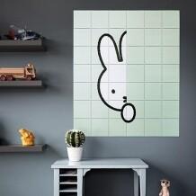 IXXI muurdecoratie Nijntje Hide And Seek