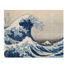 IXXI The Great Wave muurdecoratie