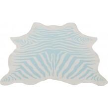 Kidsdepot Zebra vloerkleed mint