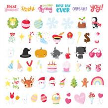 Lightbox symbol set 'let's celebrate' A Little Lovely Company