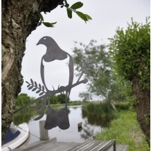 Metalbird vogelsilhouet Duif