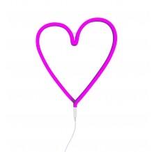 Neon lamp hart roze A little lovely company