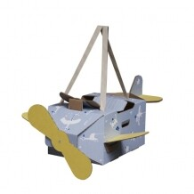 Mister Tody Flying Circus vliegtuig blauw
