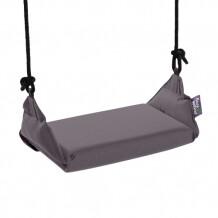 Marshmallow Swing schommel Purple Frog-Outerspace Grey