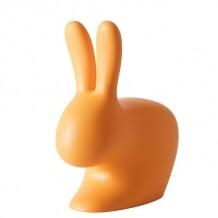 Qeeboo Rabbit Chair Oranje 80 cm