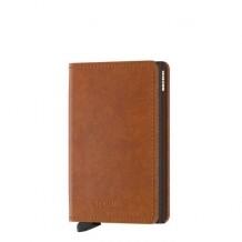 Secrid Slim wallet original Cognac Brown portemonnee