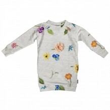 Snurk Sweater dress maat 104 Knitted Flowers