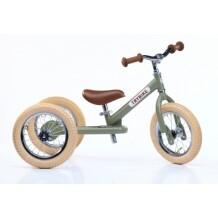 Trybike Steel 2-in-1 loopfiets groen