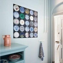 IXXI V & A plates muurdecoratie