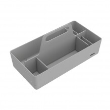 Vitra Toolbox organizer warm grey