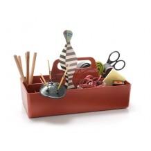 Vitra Toolbox organizer baksteen rood
