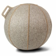 Vluv VELT Zitbal Greige-Melange - Bruin-H 70-75 cm