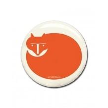 Wonderwall magneet Vos oranje
