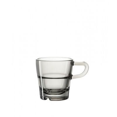 Leonardo Senso espressokopje Basalto set 6 stuks