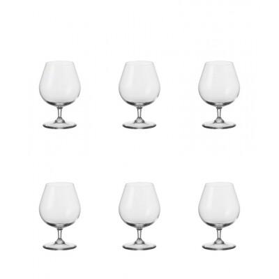 Leonardo Cognac 400ml Ciao+ Bar - 6 stuks