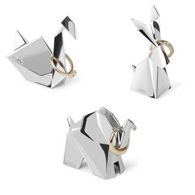 Umbra Origami ringhouders set van 3