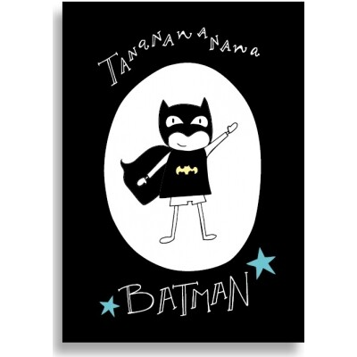 Funny Side Up poster 30 x 40 cm Batman