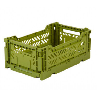 Folding Crates Olive Cream Eef Lillemor Ay-kasa
