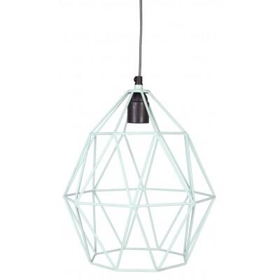 Wire hanglamp Kidsdepot mint