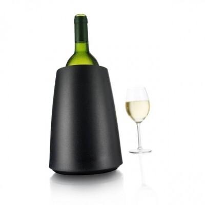 Vacuvin Active Wijnkoeler Elegant zwart