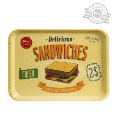 Balvi dienblad Best Sandwiches melamine