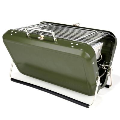 Kikkerland briefcase bbq groen