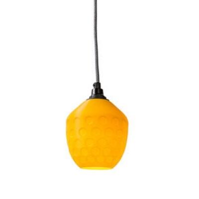 3Dlights Honeycomb hanglamp geel