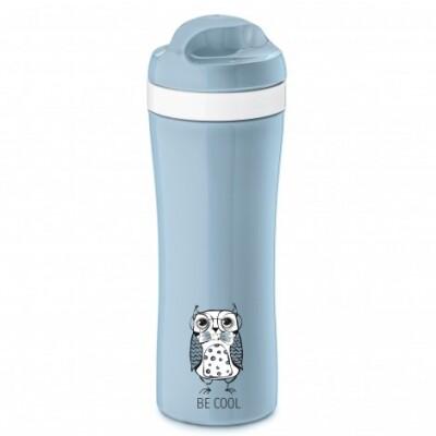 Koziol drinkfles Elli basic blauw