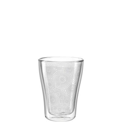 Leonardo Duo Dubbelwandig Latte Macchiato glas Decor Set van 2 glazen