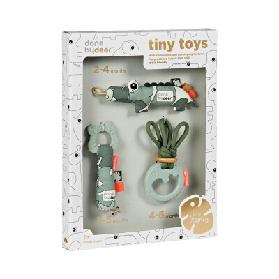 Done by Deer Tiny tropics toys giftbox