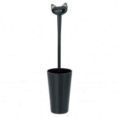 Koziol toiletborstel Miaou zwart
