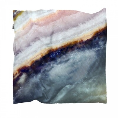 Snurk Macro Mineral blue kussen 50x50