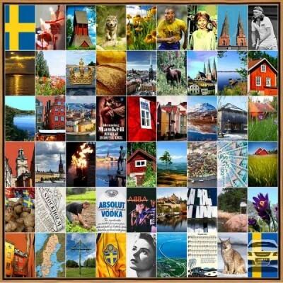 Naomi Art schilderij Zweden
