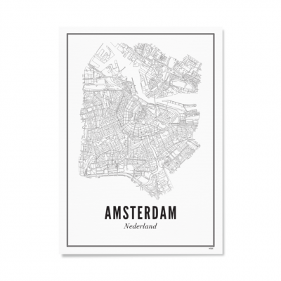Wijck ansichtkaart Stad Amsterdam