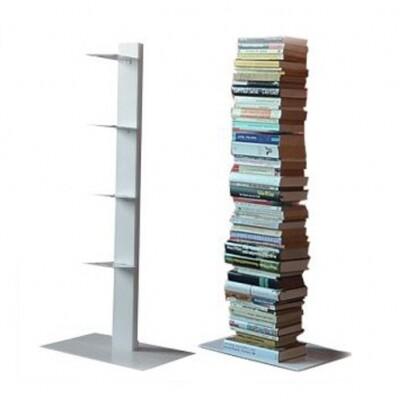 Radius boekensteun 'booksbaum' S wit