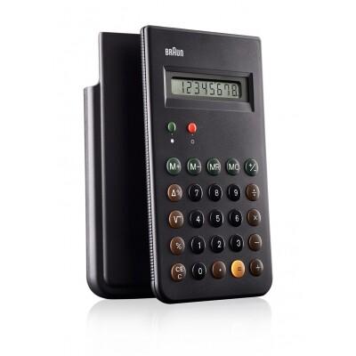 Braun rekenmachine zwart
