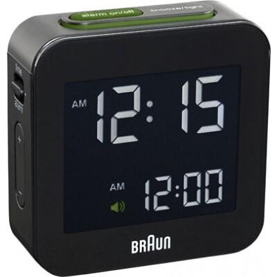 Braun digitale reiswekker BNC008