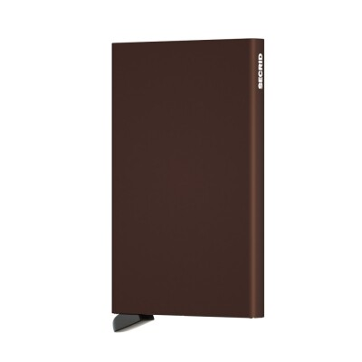 Secrid Cardprotector bruin