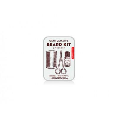 Kikkerland Gentlemen's beard Tin