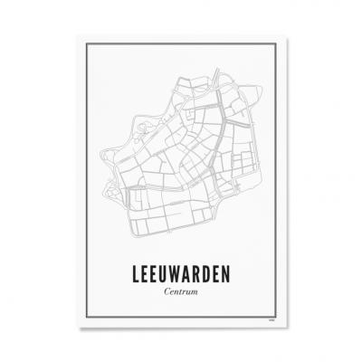 Wijck ansichtkaart Leeuwarden Centrum