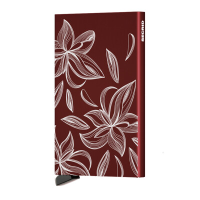 Secrid Cardprotector Magnolia laser bordeaux