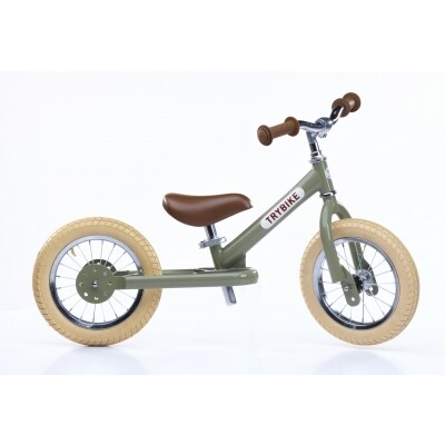 Trybike Steel loopfiets groen - tweewieler