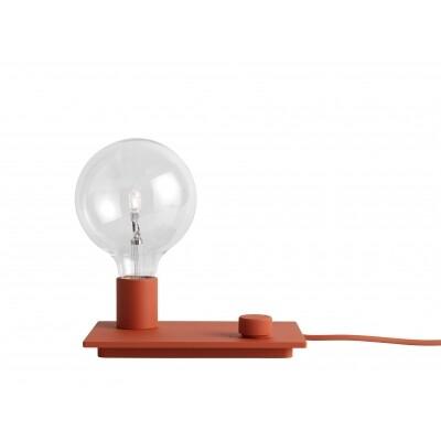 Muuto Control tafellamp rood